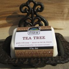 Check out Cross Wind Farm -... now available on our website! http://www.peterboroughcraftworks.ca/products/cross-wind-farm-goats-milk-soap-tea-tree?utm_campaign=social_autopilot&utm_source=pin&utm_medium=pin