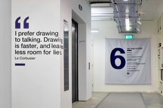 Art Materials company ColArt has recently moved into their new 25,000sqft London headquarters. Designed by Morgan Lovell, the office is meant to be a multifunctional space with its art gallery, tea room, product shelving area, open office space, and meeting rooms.