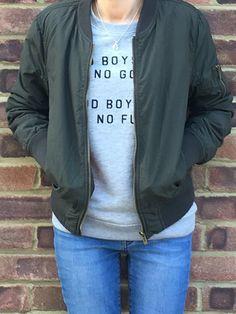 between us girls | OOTD bomber jacket zoe karssen warehouse jeans nikes