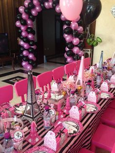 Paris Birthday Party Ideas | Photo 3 of 20 | Catch My Party