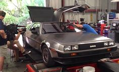 LS1 Swapped DeLorean is so cool even Doc Brown is jealous