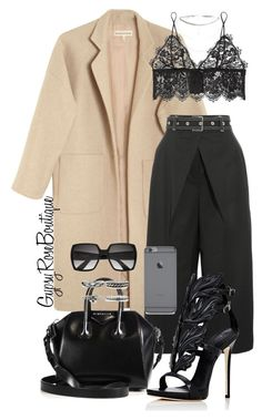 """#707"" by gypsyroseboutique on Polyvore featuring Mara Hoffman, Proenza Schouler, Anine Bing, Givenchy, Yves Saint Laurent and Giuseppe Zanotti"