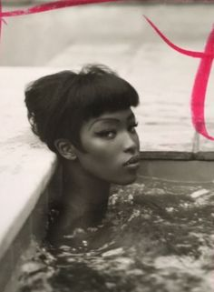 "naomihitme:  ""Naomi photographed for Italian Vogue by Steven Meisel in 1989 (Unpublished)  """
