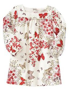 Corduroy floral dress | Gap. I cannot wait to dress this little girl!!