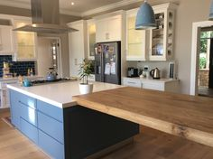 Hurlingham Kitchen-solid French oak Island Top