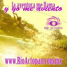 La #aventura me llama y yo me aviento en #actopan #Veracruz http://www.rioactopan.com.mx