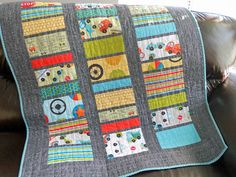 Oliver's quilt by Bethadeezoo, via Flickr