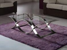 Mesas de Centro de Acero y Cristal : Modelo TIME