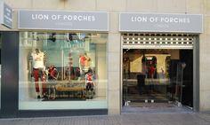 NEW STORE l Zamora, Espanha Conheça o Mundo LION OF PORCHES em www.lionofporches.com