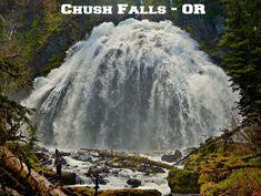 A coffee mug featuring Chush Falls on Whychus Creek - near Sisters, OR