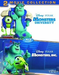 Monsters Inc. / Monsters University Collection DVD: Amazon.co.uk: Pete Docter, David Silverman, Lee Unkrich, Dan Scanlon, Darla K. Anderson, Kori Rae: Film & TV