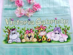 Baby Prints, Textiles, Diy And Crafts, Painting, Ballet, Crochet Embellishments, Toddler Towels, Baby Painting, Baby Things