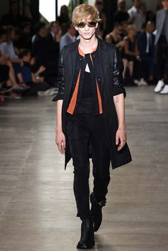 Ann Demeulemeester Spring 2016 Menswear - Collection - Gallery - Style.com