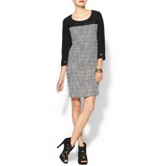 C.luce Dress Size M C.luce Dress Size Medium run a little be small black and white in perfect condition!!!! C.Luce Dresses