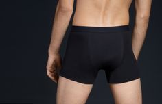 Black Support Boxers, our most effective flatulence eliminating product for men.