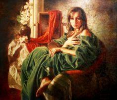 Maher Galería de Arte: Valery Vetshteyn 1966 | Pintor figurativo Ucraniano