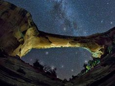 Utah's Natural Bridges National Monument at night, John Hicks | The Best Places to Stargaze in America