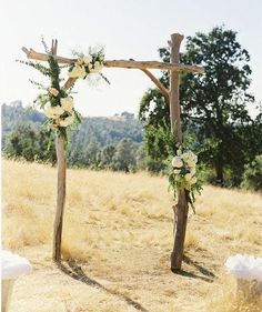 outdoor wedding altars - Google Search