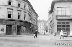 Bratislava, Old Street, Old Photos, Street View, Ulice, Landscape, Squares, Times, Inspiration