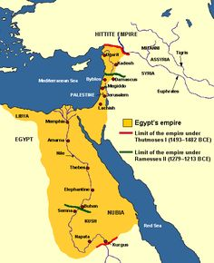 The civilization of Kemet at its highest extent.