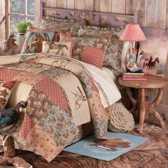 Whispering Creek Quilted Bedding Collection on Wanelo