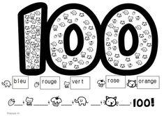 Day Of School Worksheets & Teaching Resources 100 Days Of School, School Holidays, School Fun, School Stuff, School Ideas, School Life, Math Worksheets, Math Activities, Holiday Activities