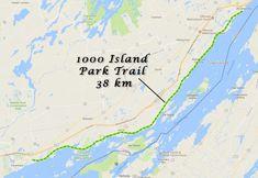 1000 Islands - Park Trail - Ontario Bike Trails Park Trails, Bike Trails, Biking, Ontario Travel, Island Park, South Park, Islands, Canada, Cycling