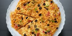 Pizza di spaghetti - http://www.piccolericette.net/piccolericette/pizza-di-spaghetti/