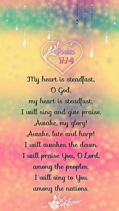 Psalms 57:7-9