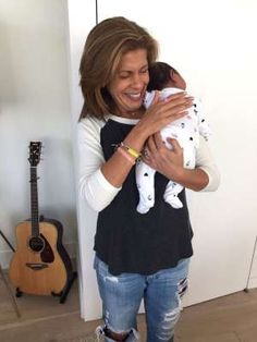 It's a girl! Hoda Kotb announces she's adopted a baby....What a lucky little girl. Congratulations Hoda !!