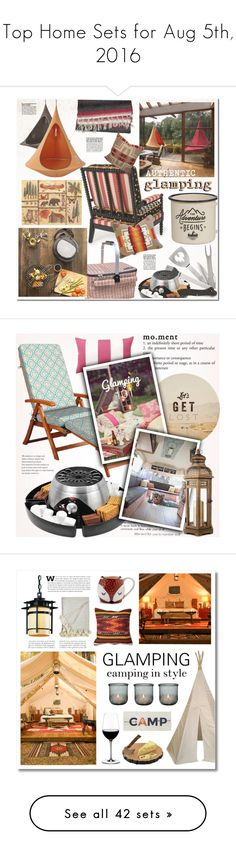 """""""Top Home Sets for Aug 5th, 2016"""" by polyvore ❤ liked on Polyvore featuring interior, interiors, interior design, home, home decor, interior decorating, Cathy's Concepts, Hang-In-Out, Cacoon and Kalorik"""