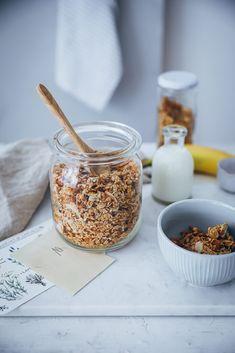 Banana Bread Granola Rezept | Zucker, Zimt und Liebe