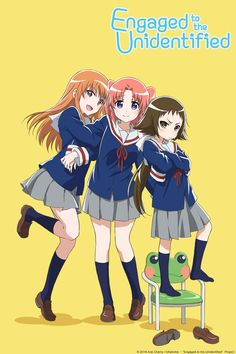 Mikakunin de Shinkōkei: This Winter 2014 series was a lot of fun. Don't know why it took me so long to finnish it!