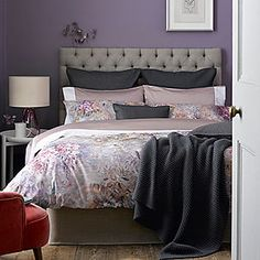 Christy Victoria Duvet Cover & Standard Pillowcase Set