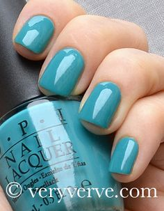 veryverve: Opi Fly, from the Nicki Minaj collection, spring summer 2012. Katiebird would like this color!