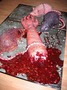 Killer Rats Cake. Click for Instructions  #food #fun