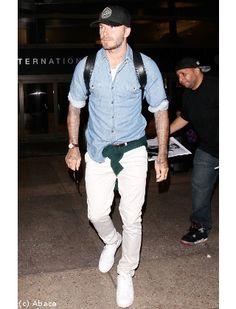 David Beckham et son style urban casual