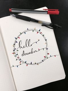 December cover page☺️ bullet journal