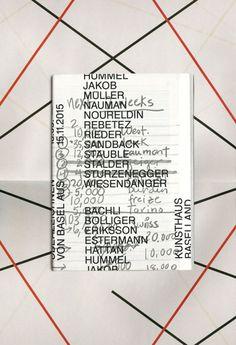 GroenlandBasel, Überzeichnen. Von Basel aus, Exhibition...