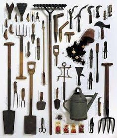 54 Best Antique Garden Tools Images