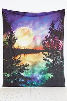 Moon Lake Tapestry Throw #covetme #urbanoutfitters