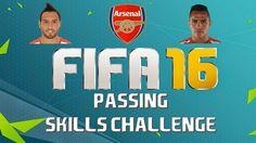 Fifa 16 - Passing Skills Challenge - Aresnal