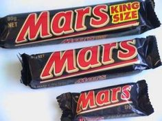 king size mars bars ,much better than the new duo