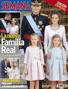 Coroação de Felipe VI na Revista Semana.