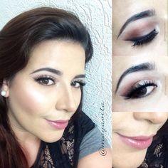 "@mayavita en Instagram: ""Inspirada hoy por @auroramakeup #motivescosmetic #lovemakeup #Nars #photobomb #Glow #Beauty #Aniversario #auroramakeup #hudabeauty """