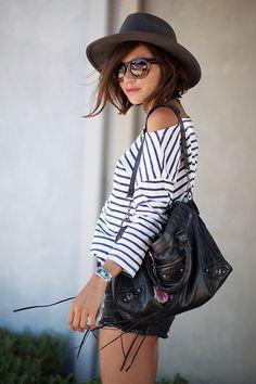 SHORT SHORTS & STRIPES | Les babioles de Zoé : blog mode et tendances, bons plans shopping, bijoux