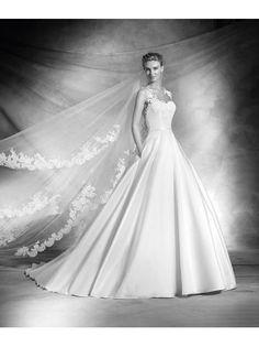 Glamoureuze A-lijn Bruidsjurken Taf Trouwjurken