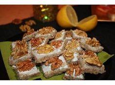 Rychlé a vynikající ořechové čtverečky, které hned zmizí ze stolu :-)))