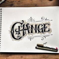 Typography  Lettering & Calligraphy Inspiration | #1291