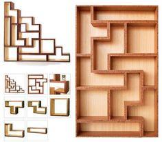 Estante Modular de Tetris